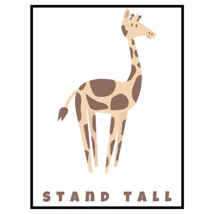 Giraffe Stand Tall impression