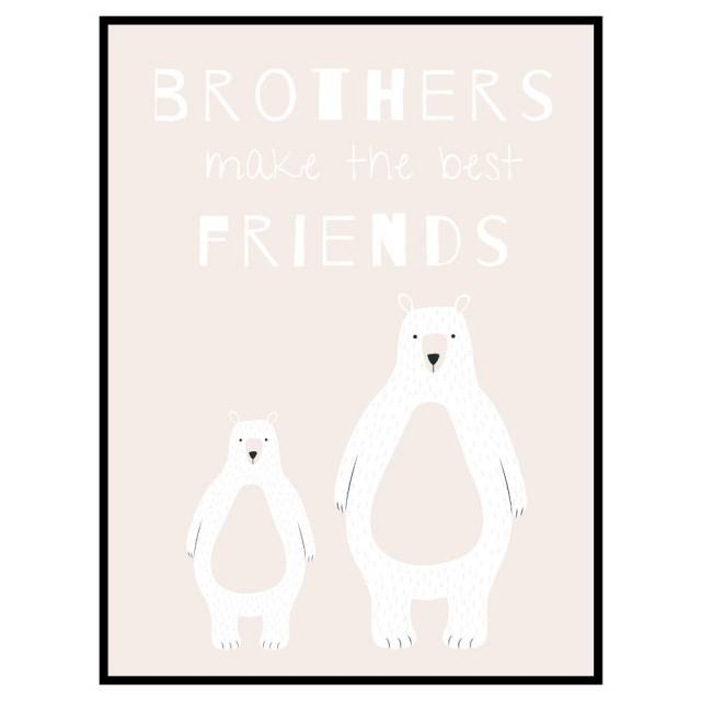 Stampa Bear Brothers Light