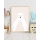 Bear Light print