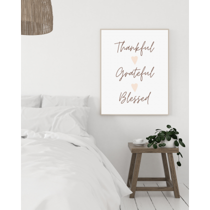 Stampa Thankful