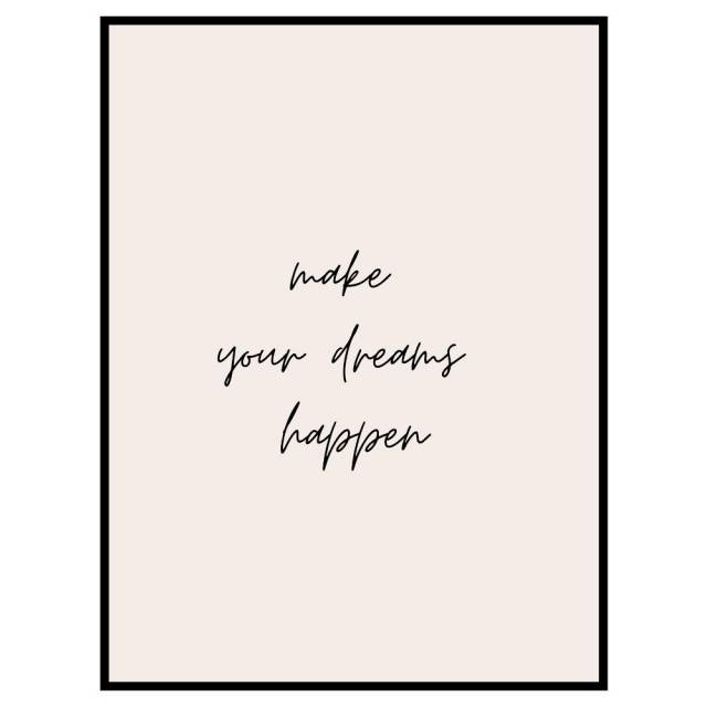 Your Dreams print