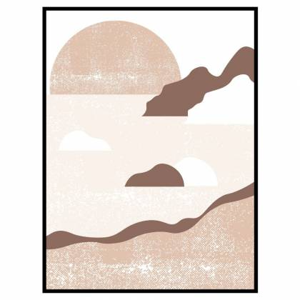 Coast Medium Beige print