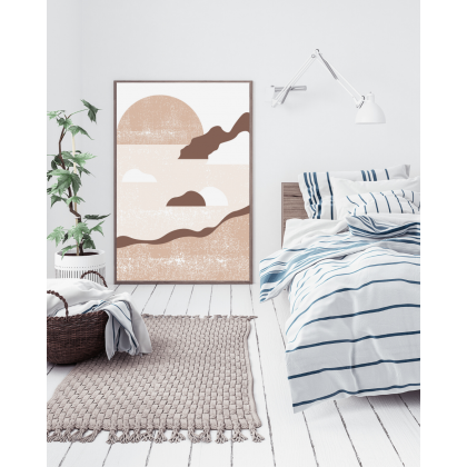 Coast Medium Beige drucken