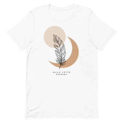 Camiseta unisex Feather
