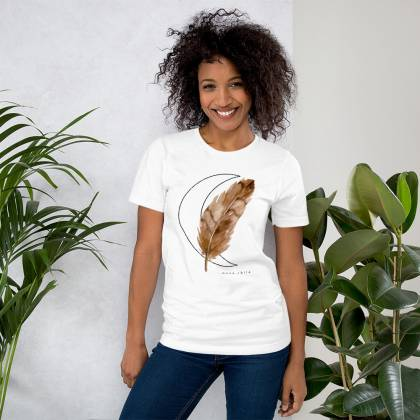Camiseta unisex Watercolour Feather