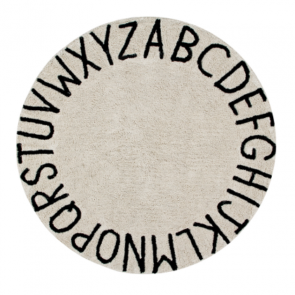 Alphabet Washable Rug