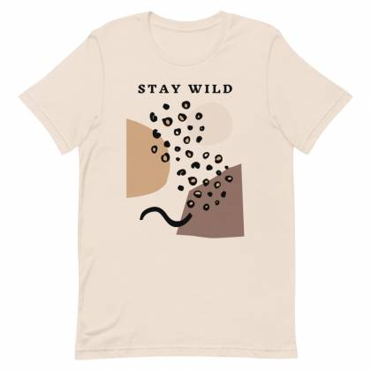 Camiseta Unissex Stay Wild