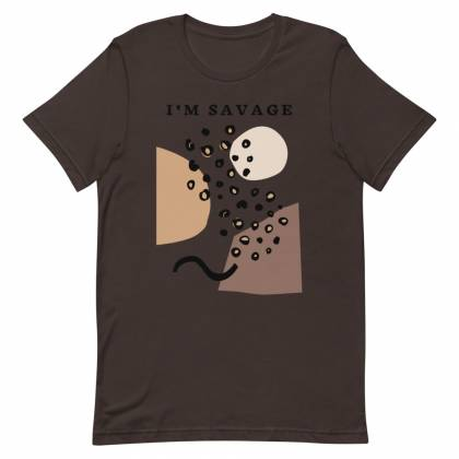 Camiseta unisex Savage