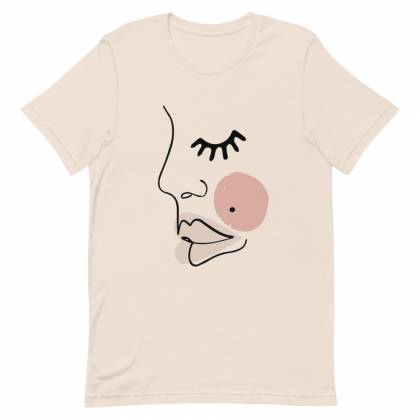 Camiseta unisex Face Closed Eye