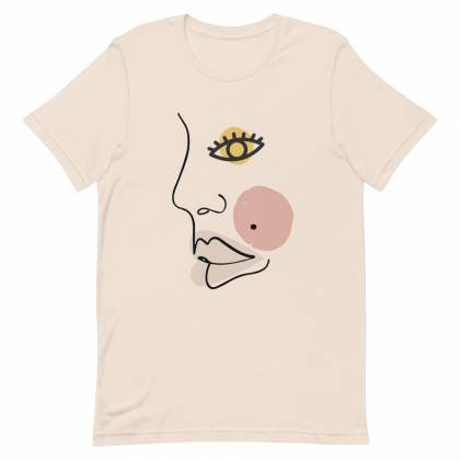 Camiseta unisex Face Opened Eye