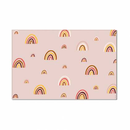 mini rainbows autumn Vinyl Carpet