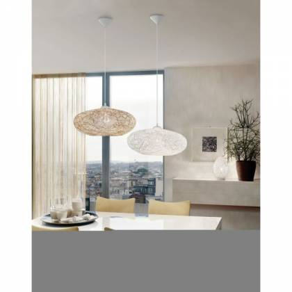Campillo white ceiling lamp