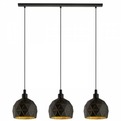 ROCCA black ceiling lamp