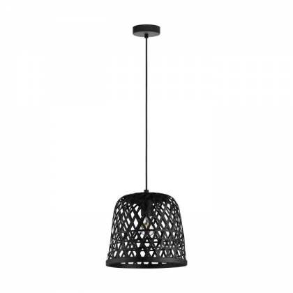 black KIRK ceiling lamp