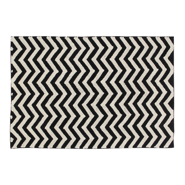 Alfombra Lavable Zig Zag