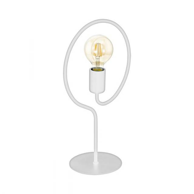 Lampe de table COTTINGHAM blanc