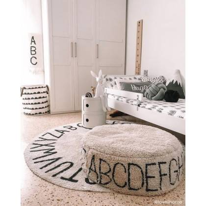 ABC Natural pouf