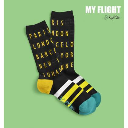calcetines unisex My flight