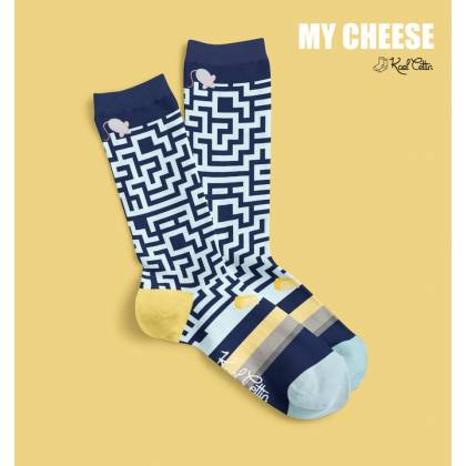 My cheese Unisex-Socken