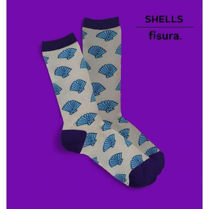 calcetines chica Shells