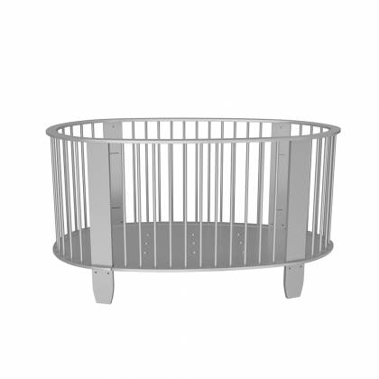 Cocoon crib gray