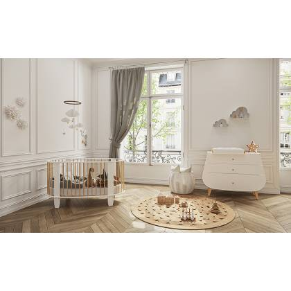 Cocoon cot white