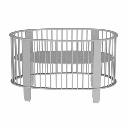 Oeuf evolutionary cot gray