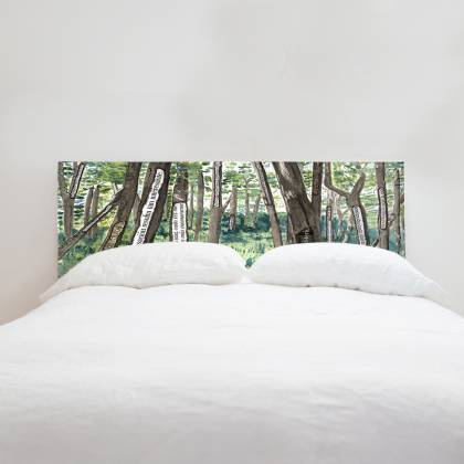 Animated Forest III Headboard