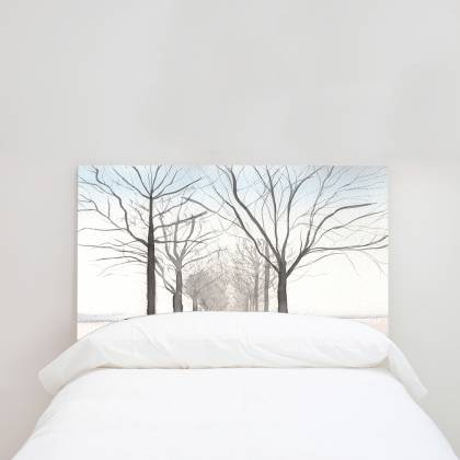 Winter Headboard