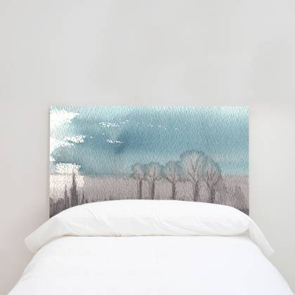 Sunset headboard