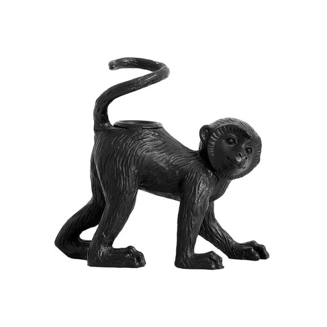 Monkey palva Candle holder