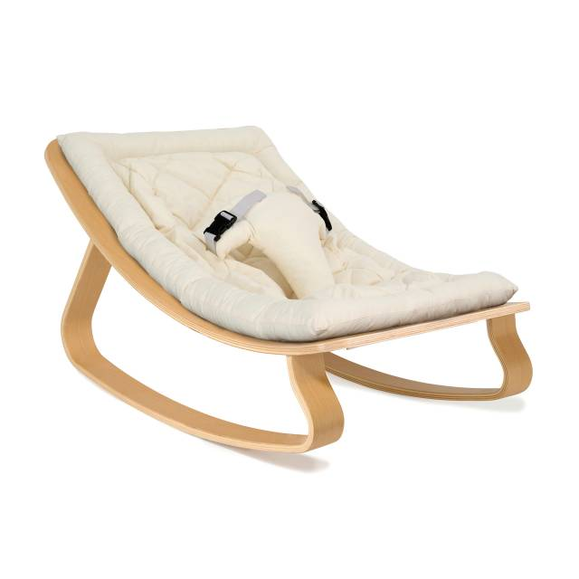 Levo Baby Rocker gentle white