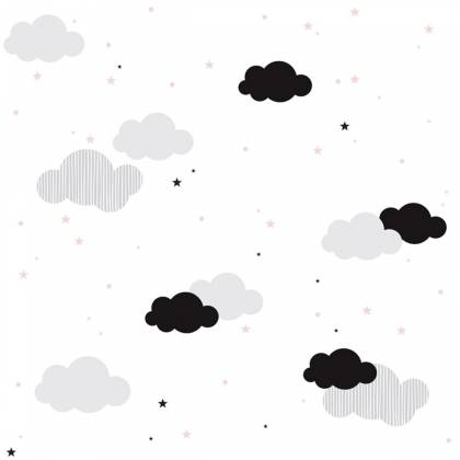 Papier peint Clouds And Stars