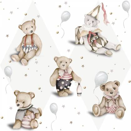 Teddy Bear French tapete
