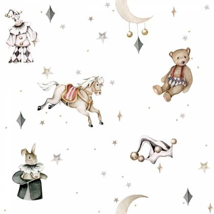 Papel de parede French characters