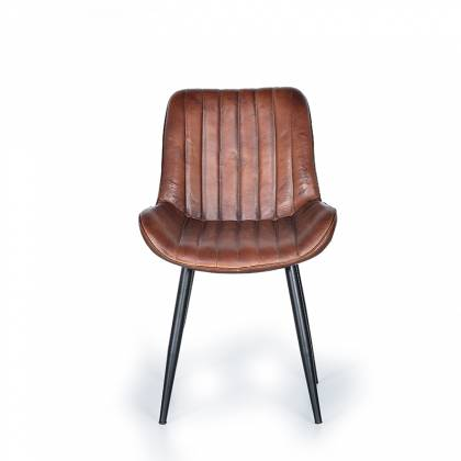 Giner & Colomer Leather Chair