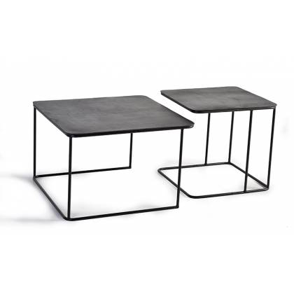 Set of 2 Giner & Colomer coffee tables