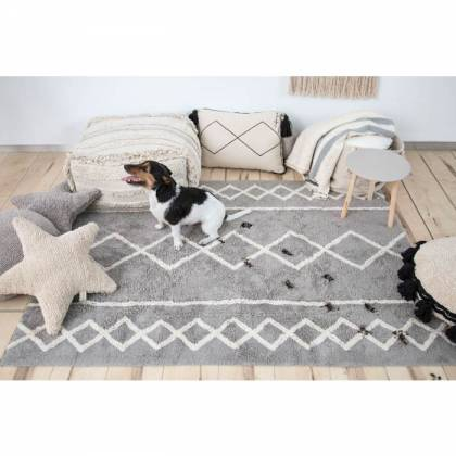 Alfombra Lavable Oasis Natural - Grey