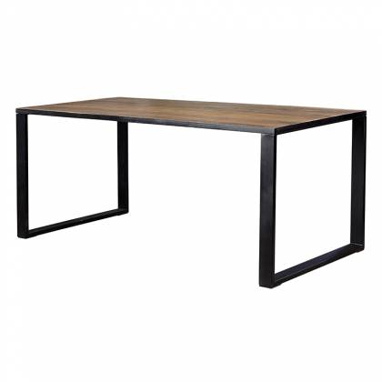 Reinforced Iron Dining Table