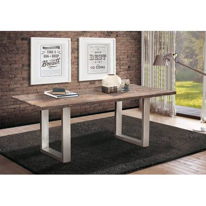 Oak Wood Dining Table (Longer)