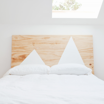 """Mountain"" Headboard"