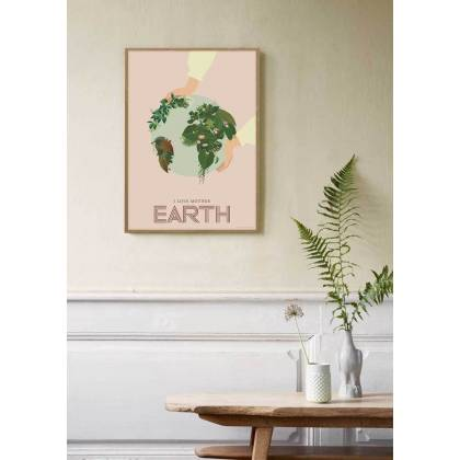 I LOVE MOTHER EARTH print