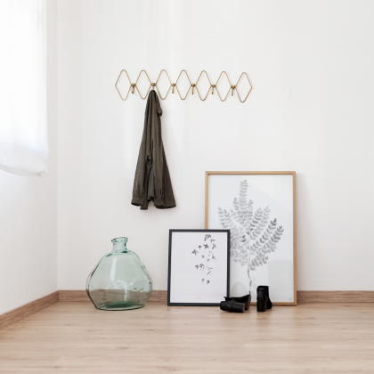 Gold Coatrack
