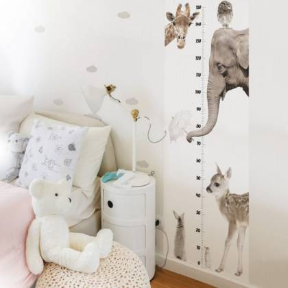 Animals Growth Chart Wallsticker