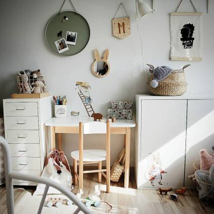 Little Mouse Set Wallsticker