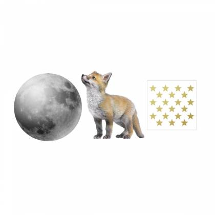 Little Fox Set Wallsticker