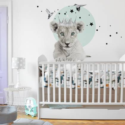 Little Lion 2 Wallsticker