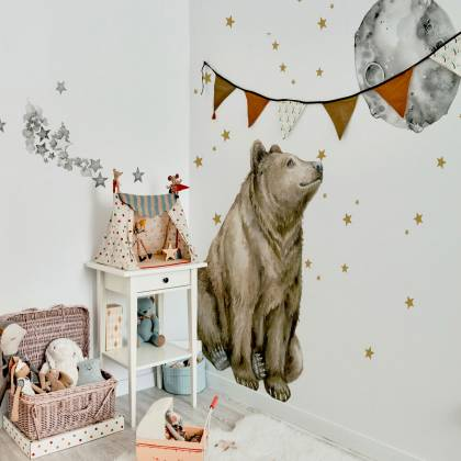 Mr. Bear Wallsticker