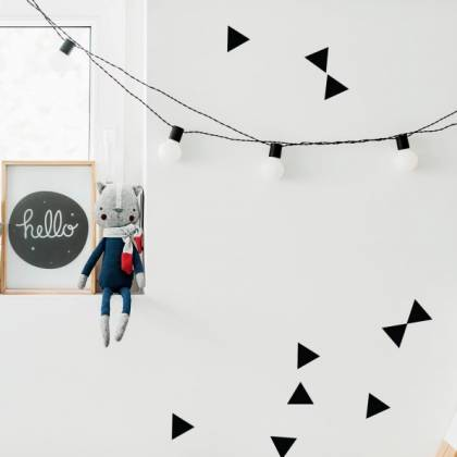 Miniset: Triangles Wallsticker