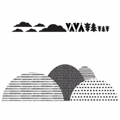 Northern Mountains Wallsticker